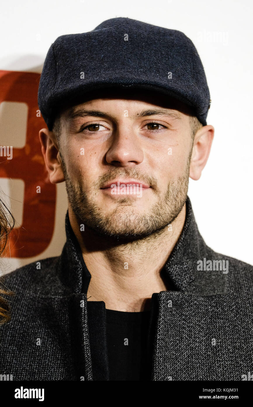 London, UK. 08th Nov, 2017. Current Arsenal &. England Player Jack Wilshire  attends the World Premiere of 89 - Stock Image
