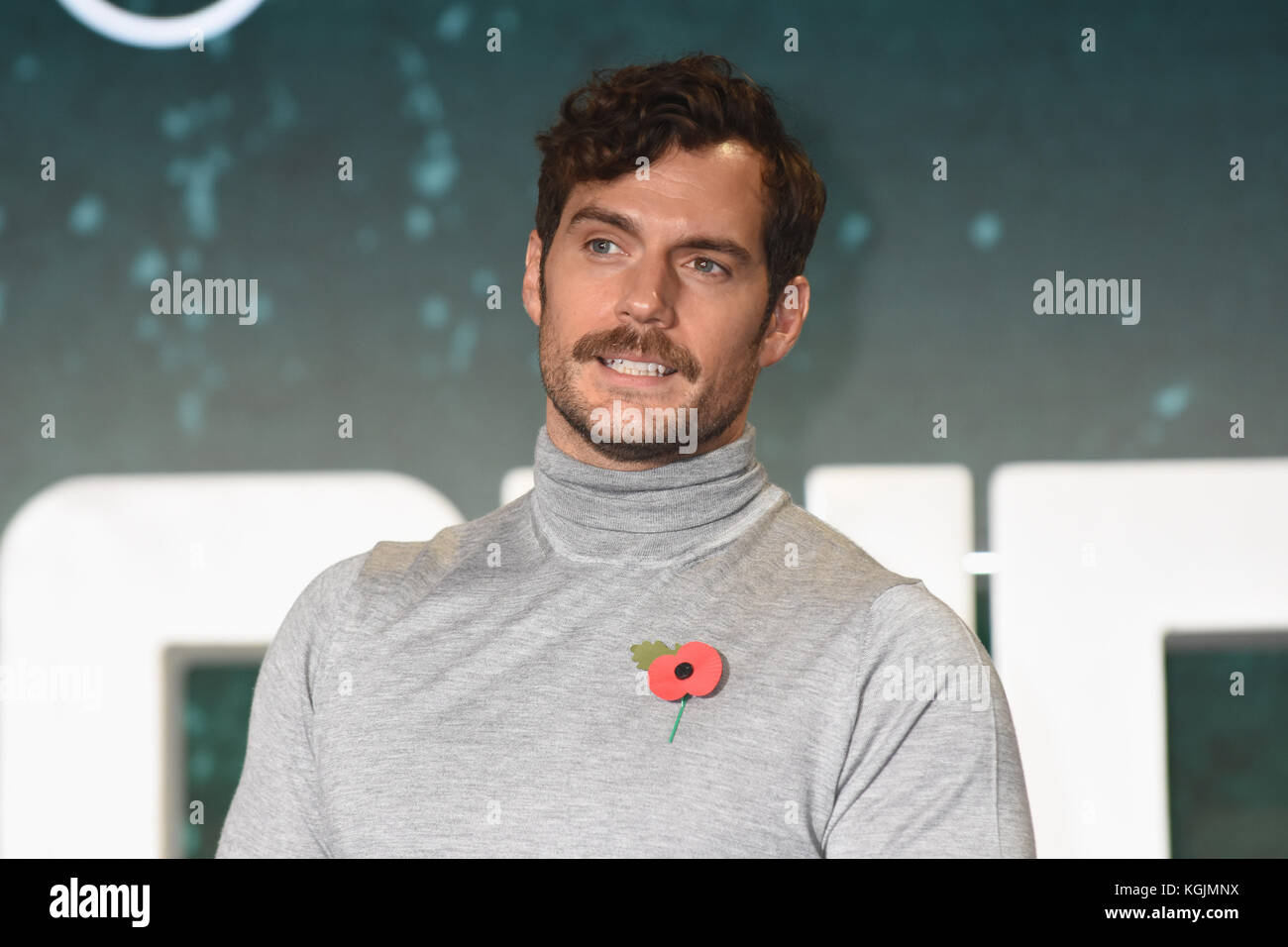 Henry Cavill,'Justice League',Photocall at The College,Southampton Row,London.UK - Stock Image