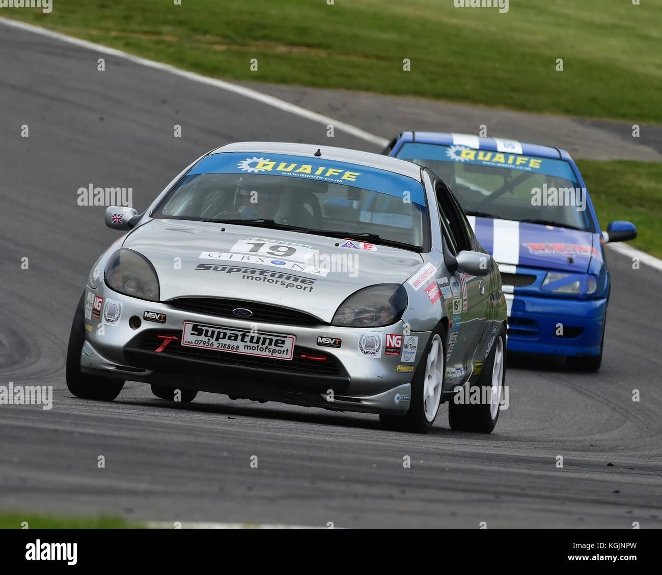 Gideon September, Ford Puma, Quaife, Cannon, Tin Tops Championship, Deutsche Fest, Brands Hatch, August, 2017, Autosport, - Stock Image
