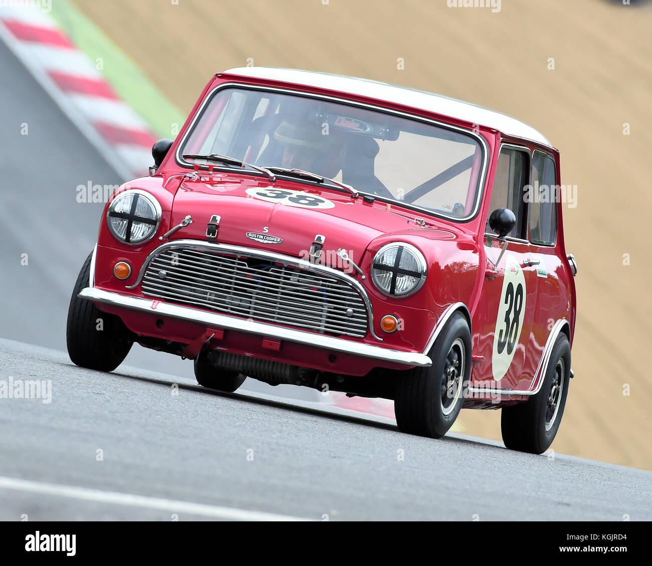 Brian Johnson Austin Mini Cooper S Masters Pre 66 Touring Cars