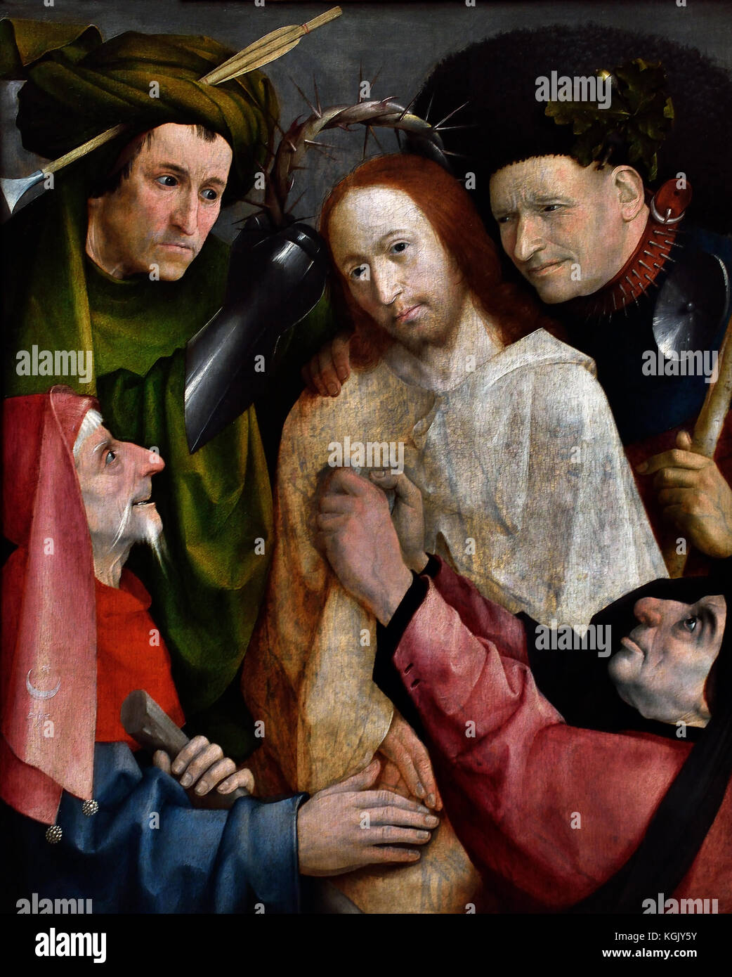 Jesus Christ Italian 15-16th Century Italy - Stock Image