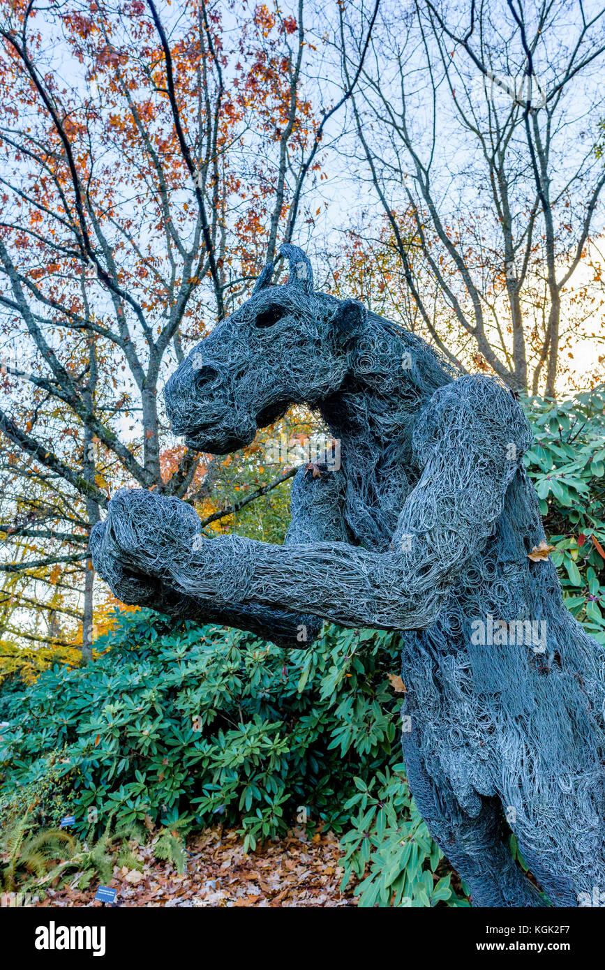 Kgk Gardening Landscape: Minotaur Sculpture Stock Photos & Minotaur Sculpture Stock