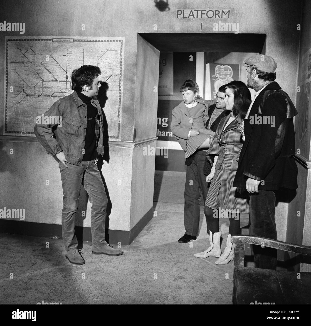 Daleks Invasion Earth 2150AD (1966) , Jill Curzon , Ray Brooks , Andrew Keir     Date: 1966 - Stock Image