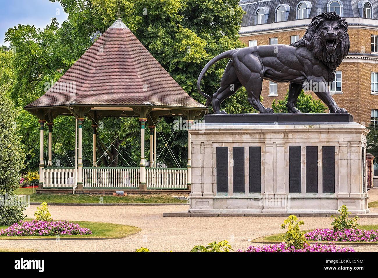 War Memorial Forbury Gardens Reading Berkshire UK Stock Photo