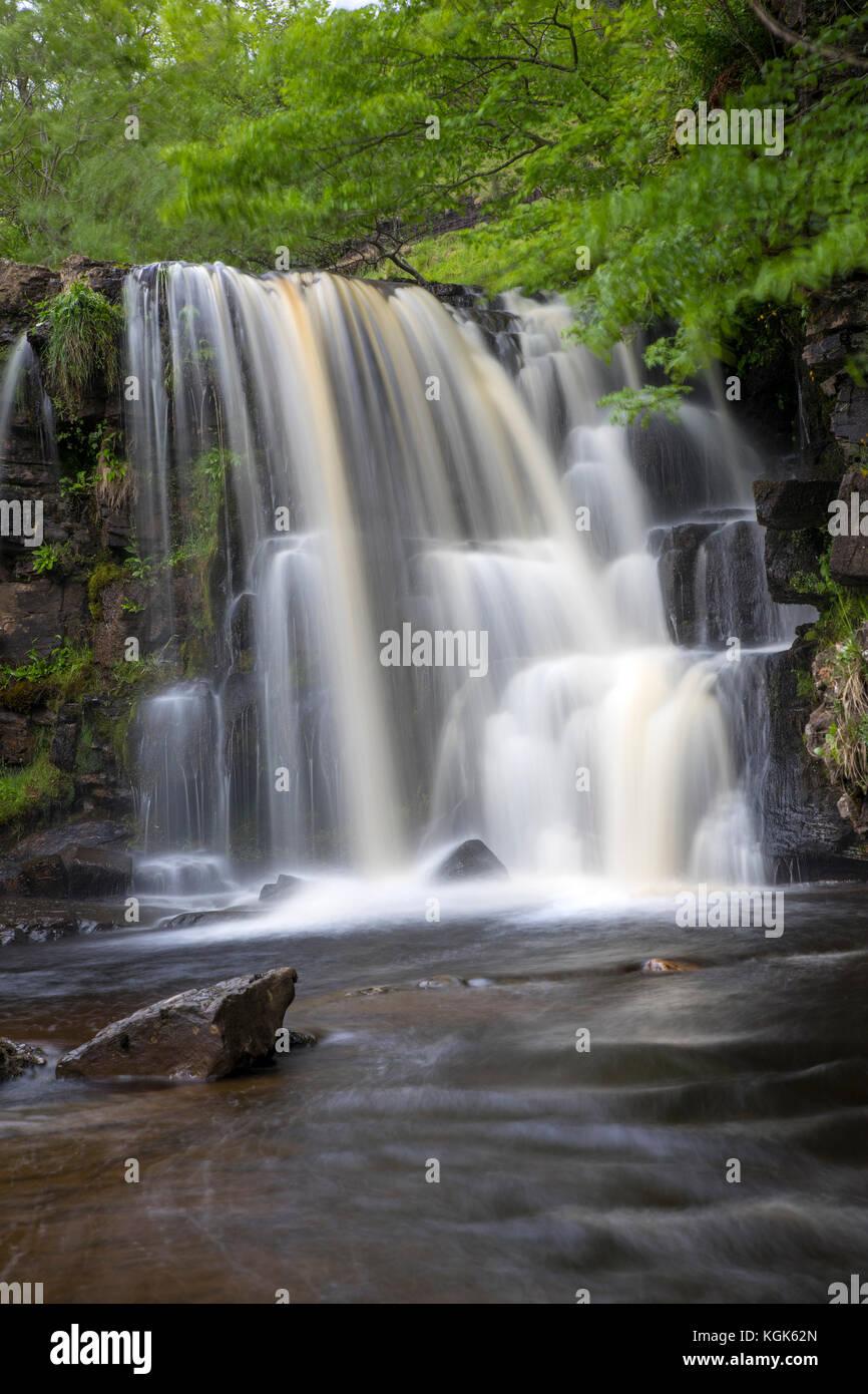 Keld; East Gill Force; Swaledale; Yorkshire; UK - Stock Image