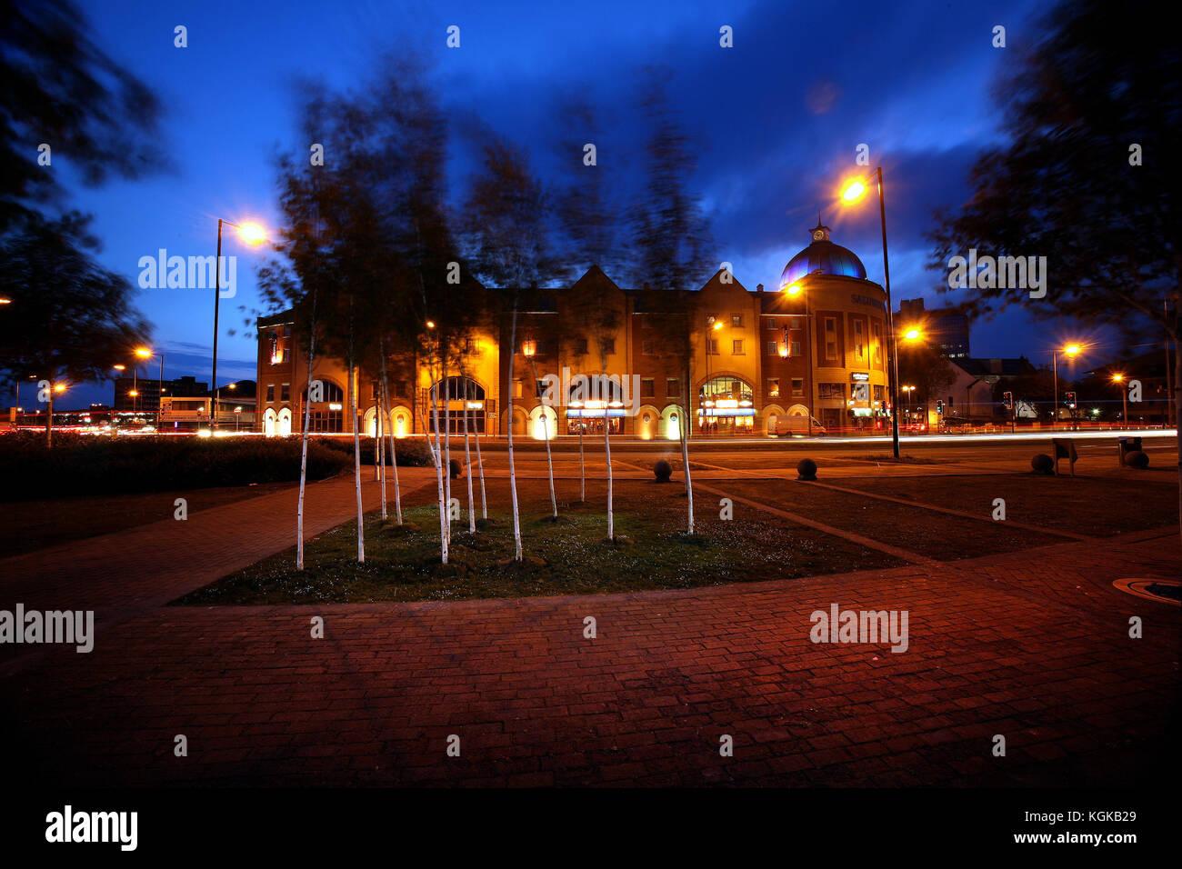 Salubrious Place, Swansea, Wales, UK - Stock Image