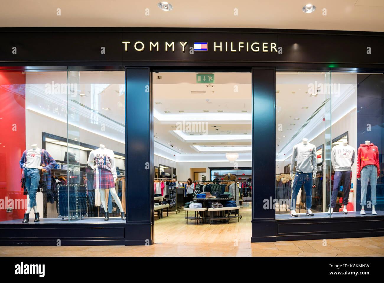 33a8cbc4 Tommy Hilfiger store, UK Stock Photo: 165161189 - Alamy