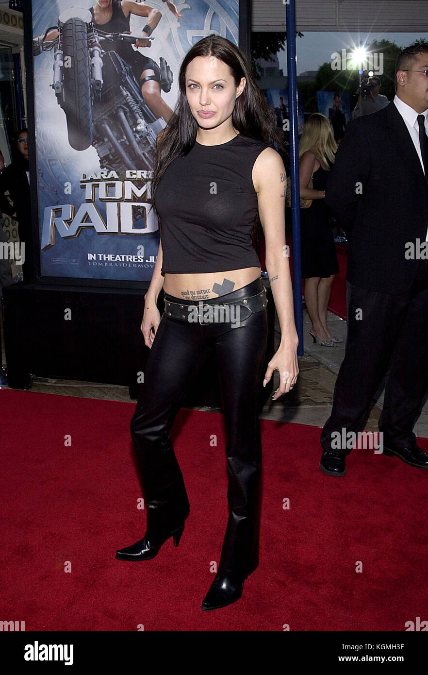 Angelina Jolie Arriving At The Lara Croft Tomb Raider