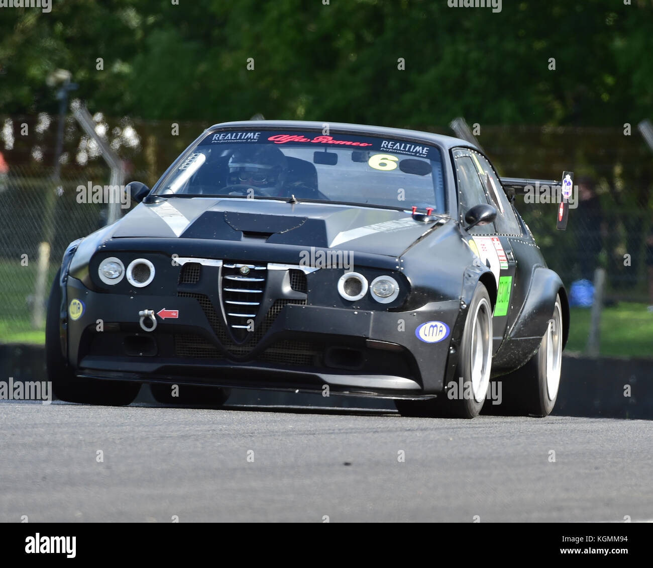 Ian Stapleton Alfa Romeo Alfetta Gtv Italiano Vs Inglese Allcomers Stock Photo Alamy