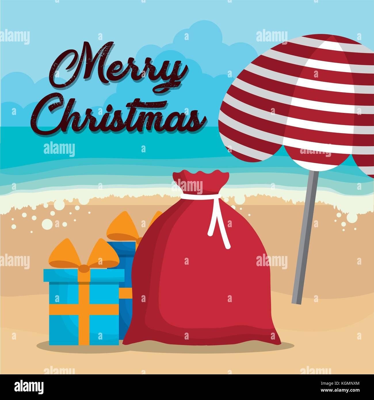 Christmas Vacations.Christmas Vacations Design Stock Vector Art Illustration