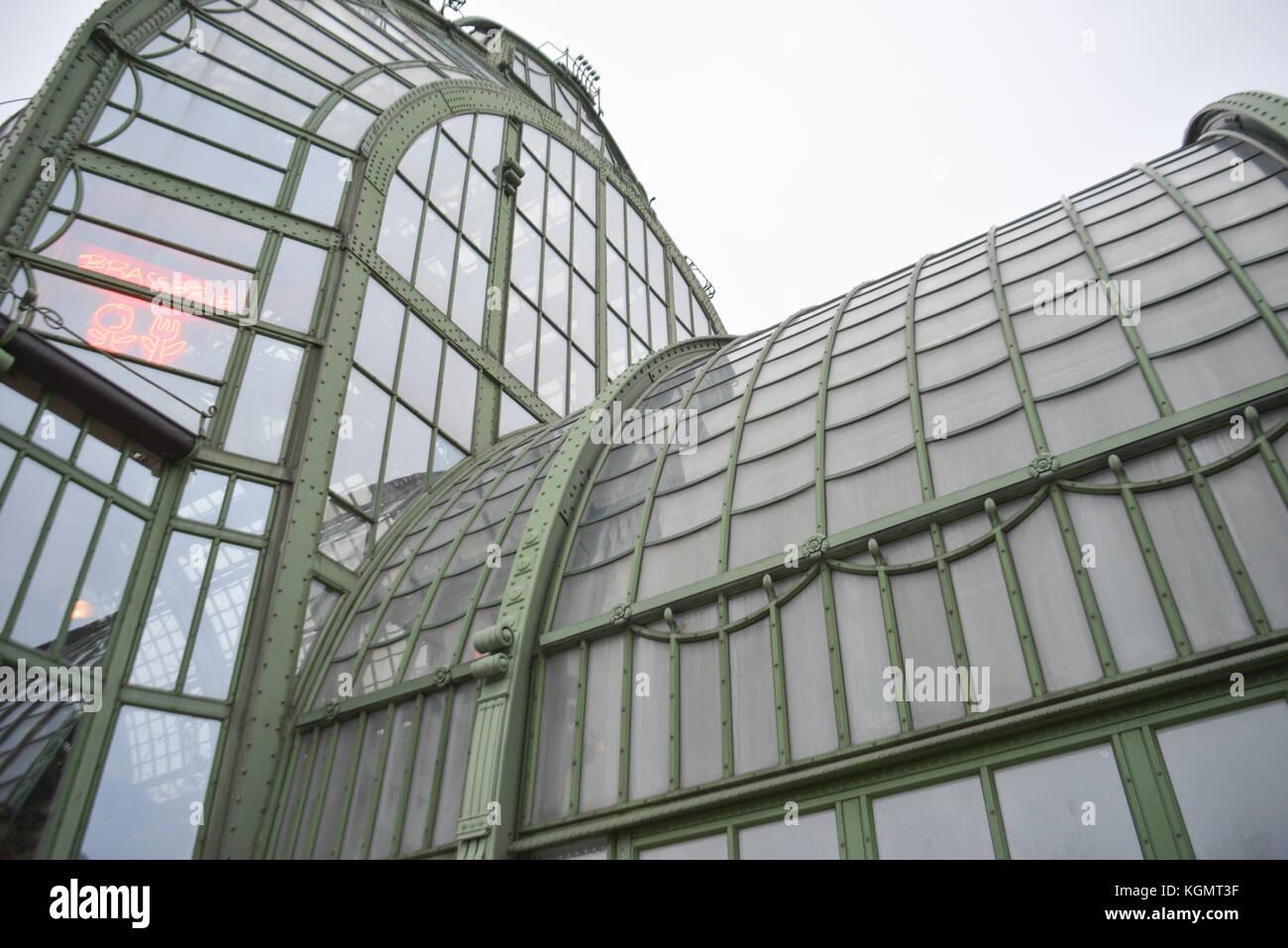 Elements of Grosse Orangerie, Vienna, Austria - Stock Image