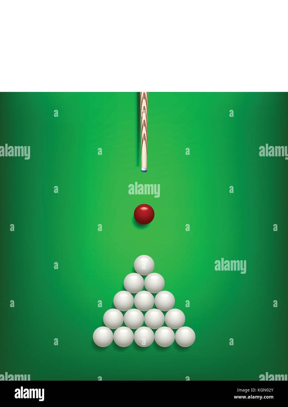 billiard balls 01 - Stock Vector