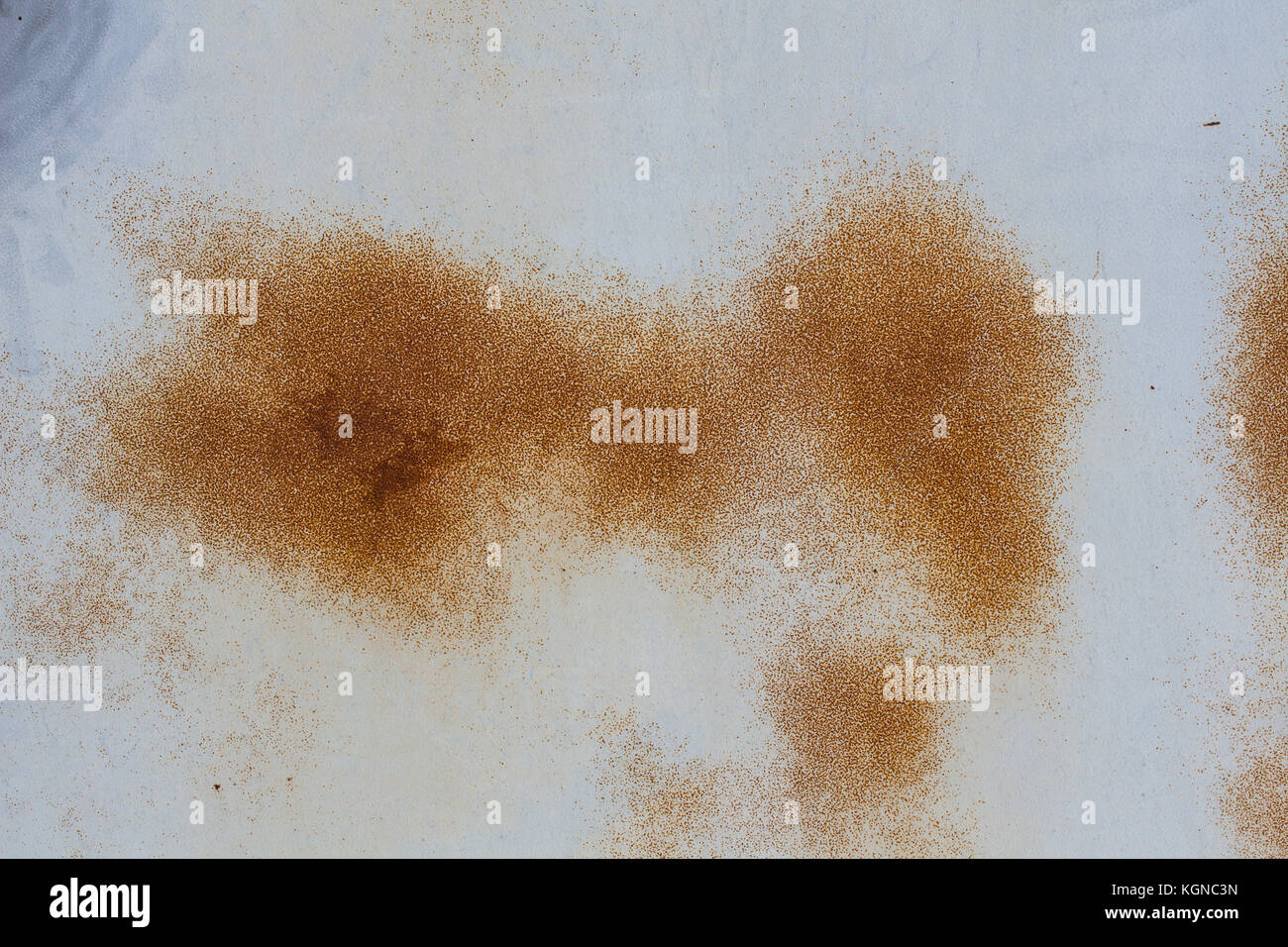 The Rust on metal surfaces for background - Stock Image