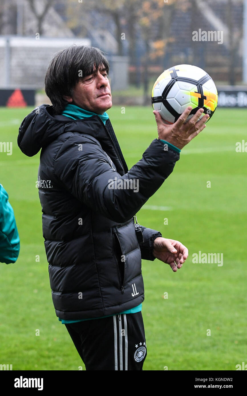 Bundescoach Joachim Loew Germany With Ball Von Nike Ges