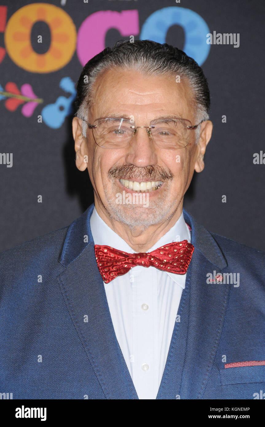 Los Angeles, California, USA. 8th Nov, 2017. November 8th 2017 - Los Angeles, California USA - Actor ALFONSO ARAU - Stock Image