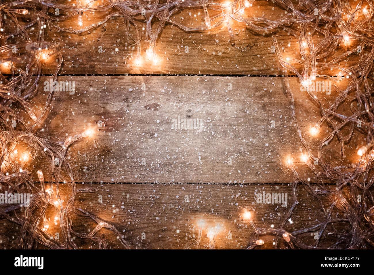 Christmas Lights Background.Christmas Lights Background Christmas Ornaments Stock Photo