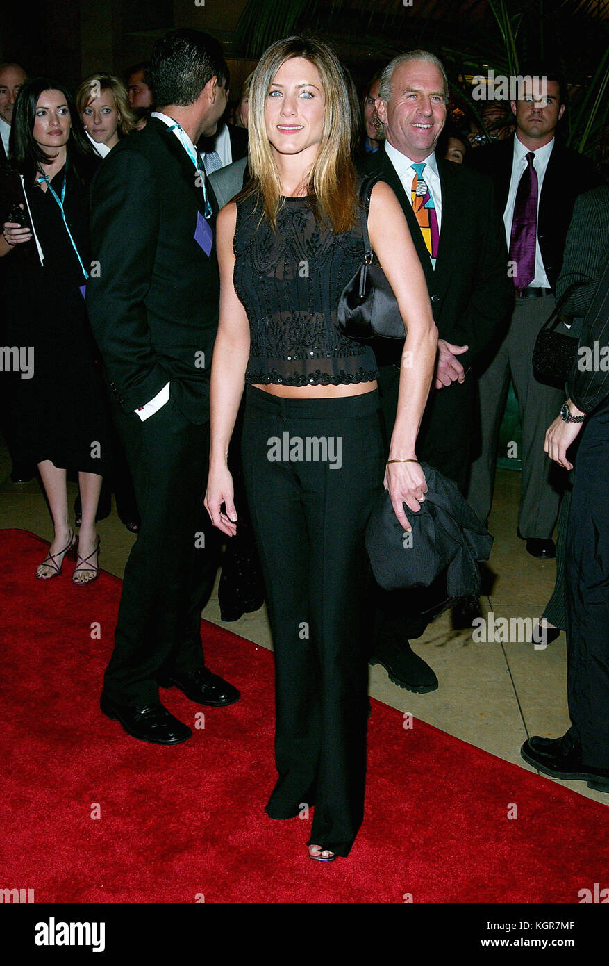 Jennifer Aniston arriving at the 5th Annual Lili Claire