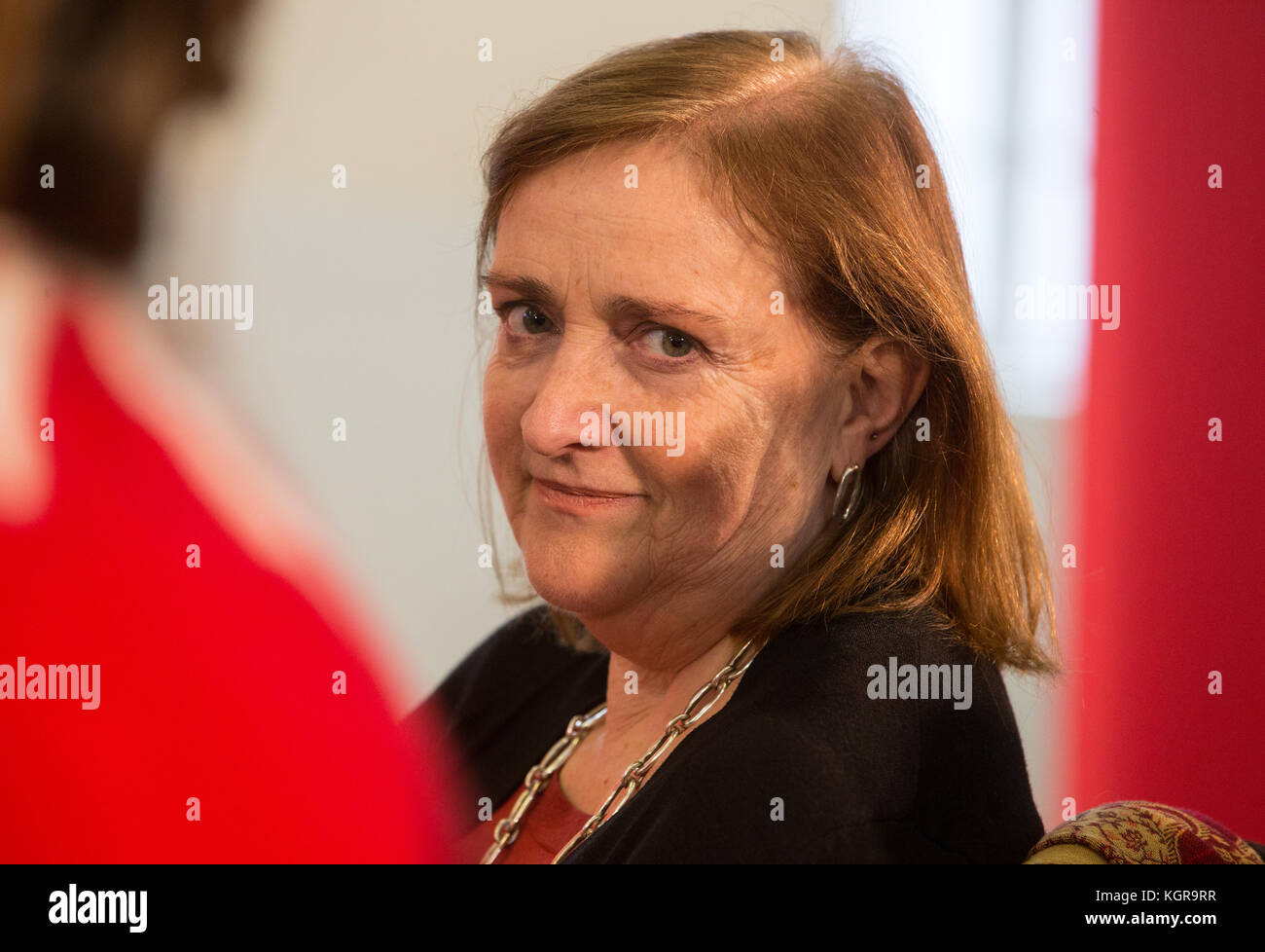 Emma Dent Coad, Labour MP for Kensington. Her constituency includes Grenfell Tower in North Kensington where the - Stock Image