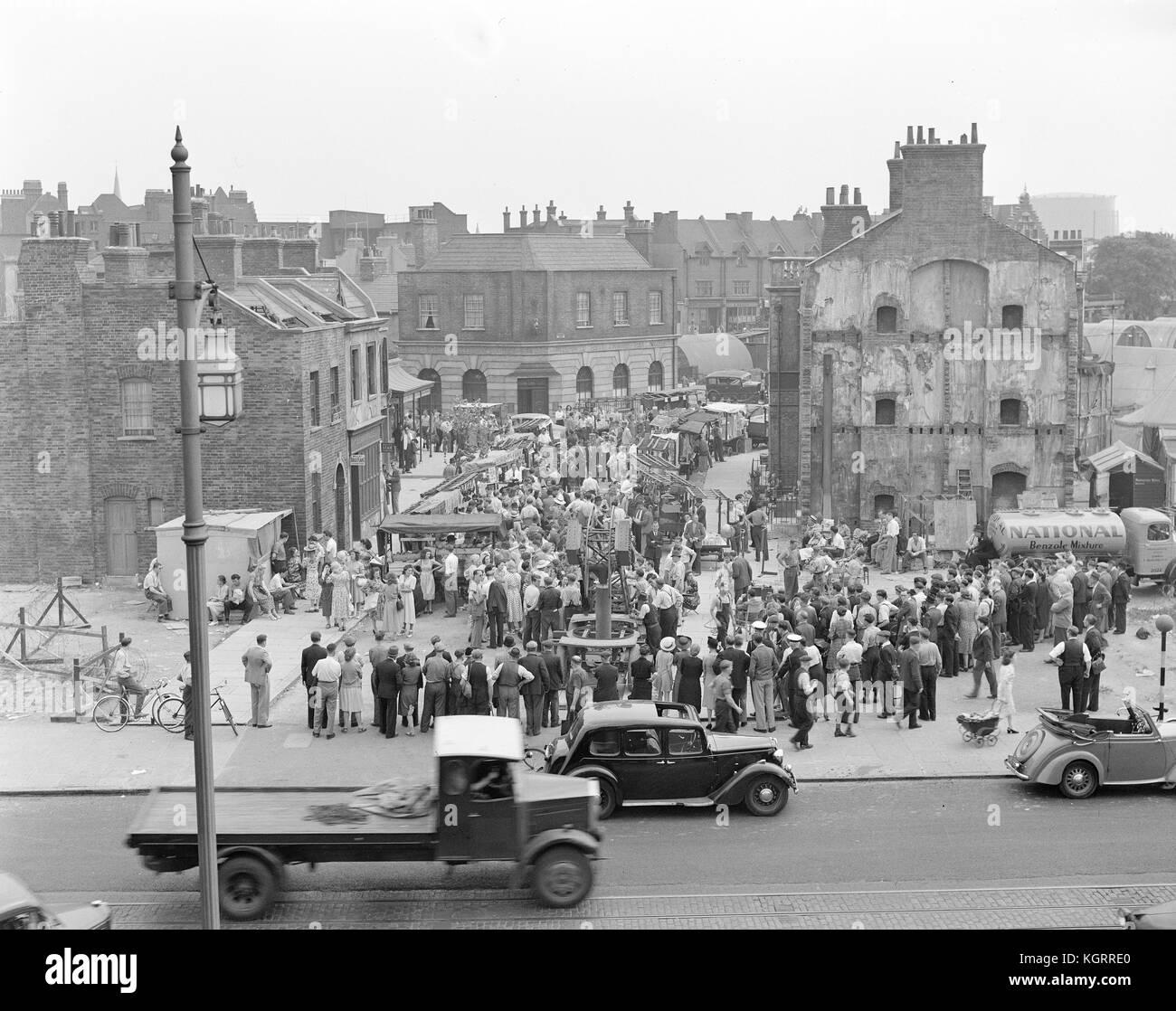 Passport to Pimlico film (1949) - Stock Image