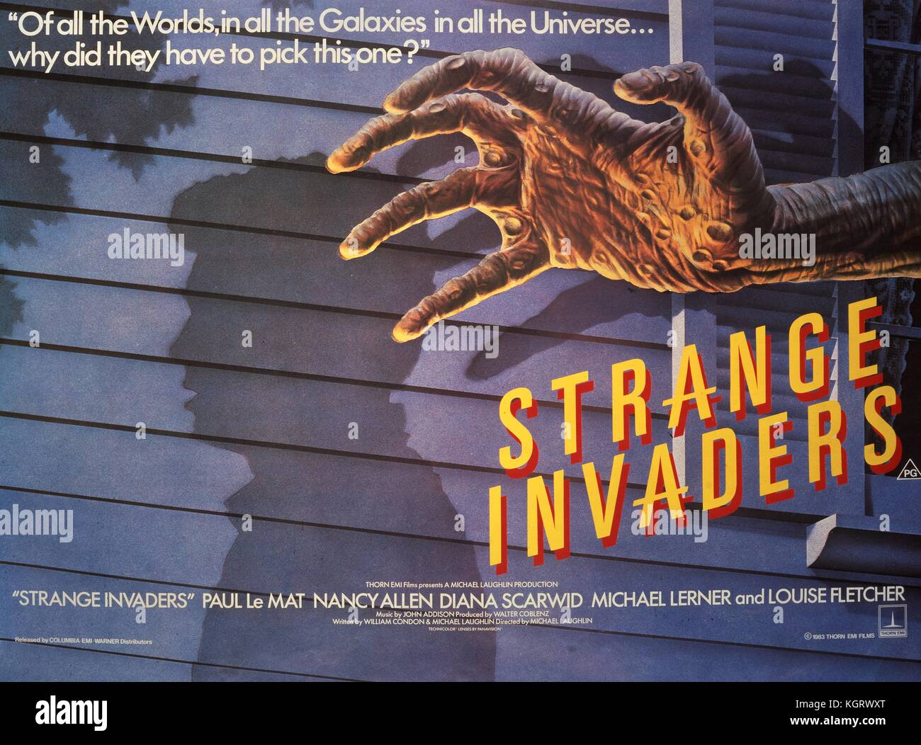 1983 Movie Posters: Sci Fi Film Posters Stock Photos & Sci Fi Film Posters