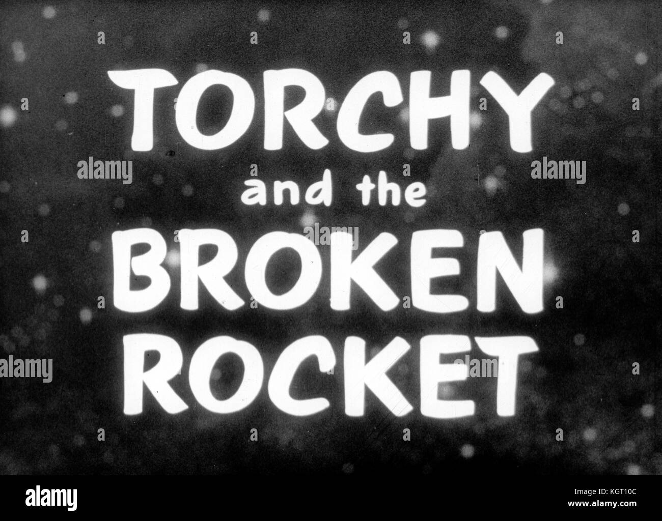 Torchy the Battery Boy (1957) TV series , Series One, Episode Five, Torchy and the Broken Rocket     Date: 1957 - Stock Image