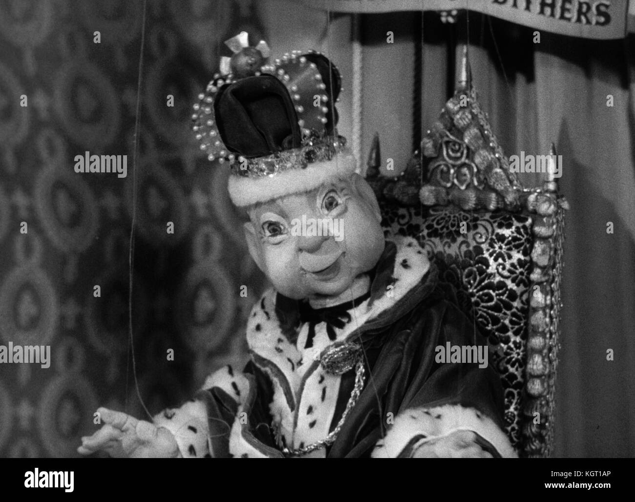 Torchy the Battery Boy (1957) TV series , Series One, Episode Eighteen, The Hungry Money Box     Date: 1957 - Stock Image