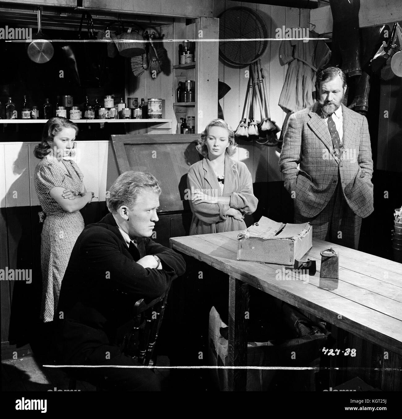 Whisky Galore (1949), Gordon Jackson, James Robertson Justice, Joan Greenwood, Gabrielle Blunt - Stock Image