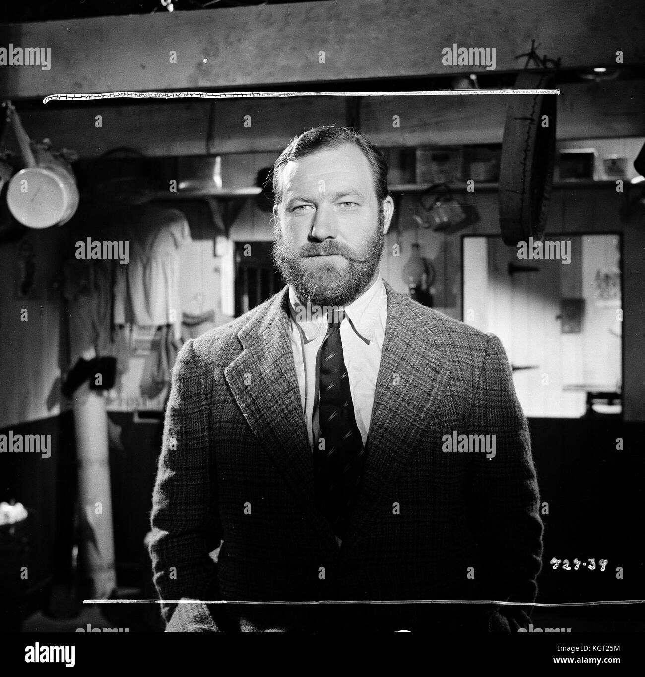 Whisky Galore (1949), James Robertson Justice - Stock Image