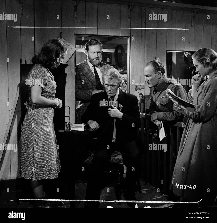 Whisky Galore (1949), Gordon Jackson, James Robertson Justice, Joan Greenwood, Gabrielle Blunt, Bruce Seton - Stock Image