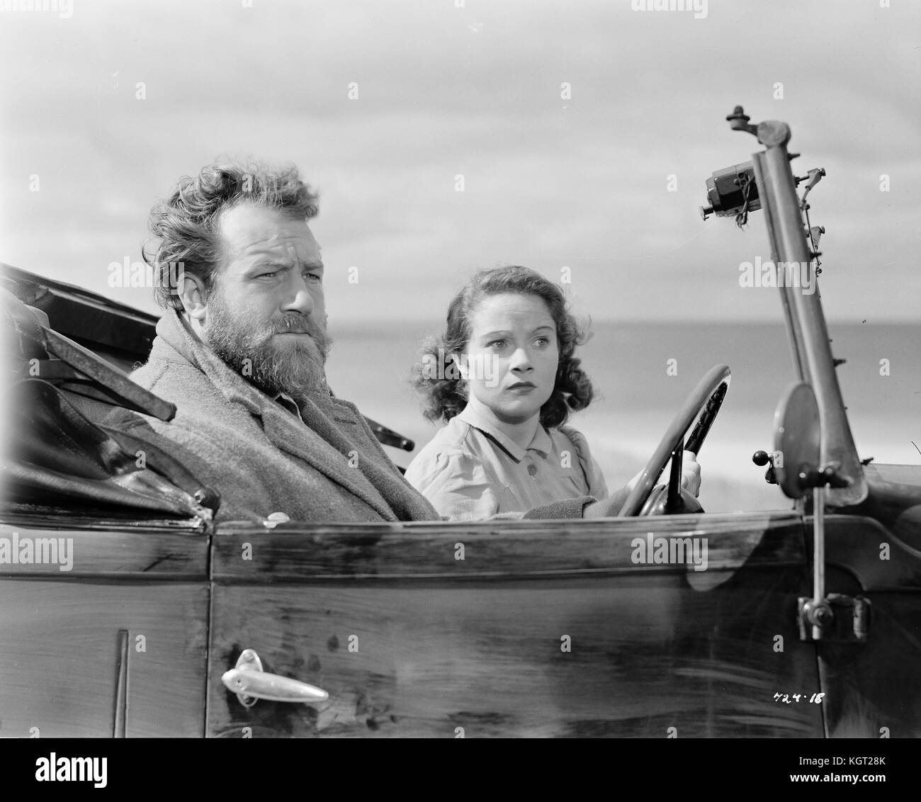 Whisky Galore (1949), James Robertson Justice, Gabrielle Blunt - Stock Image