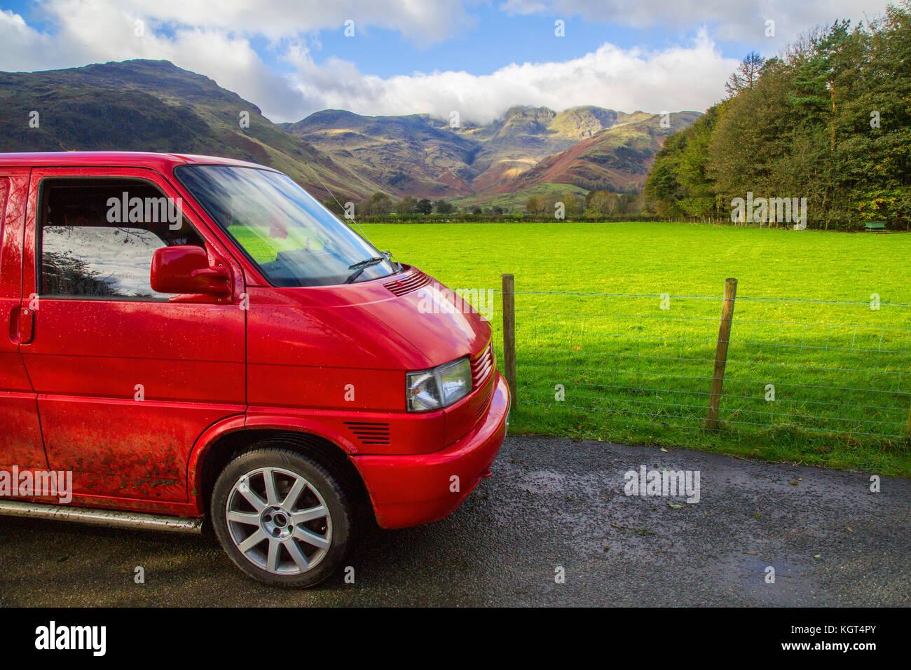 The iconic Volkswagen T4 Camper Van - Stock Image