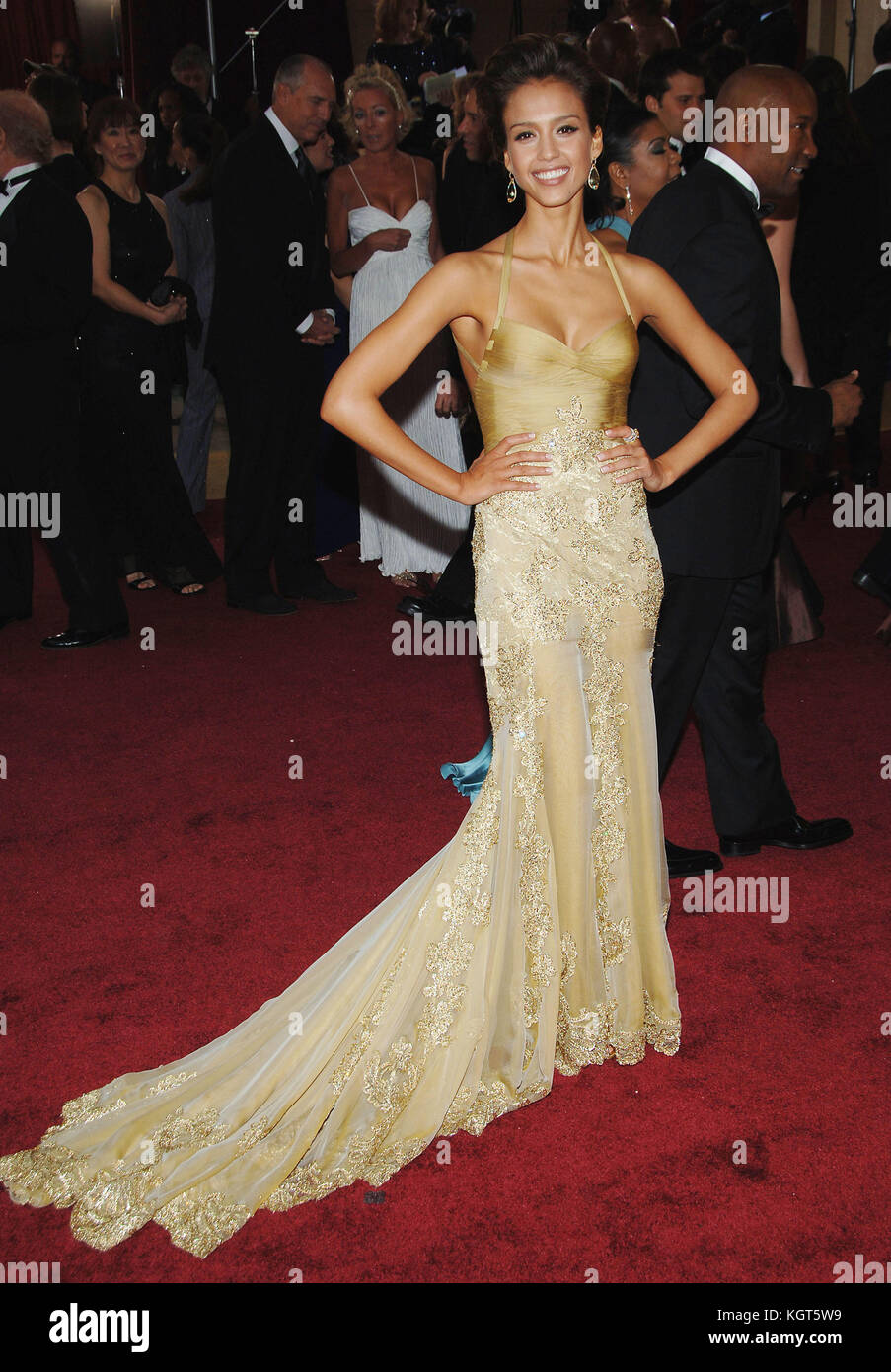 Jessica Alba Arriving At The 78th Annual Academy Awards Kodak Theatre In Hollywood March 5th 2006 568 Fashion Full Length People