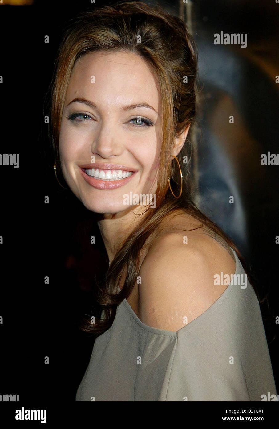 Angelina Jolie Taking Lives Film Stock Photos Angelina Jolie