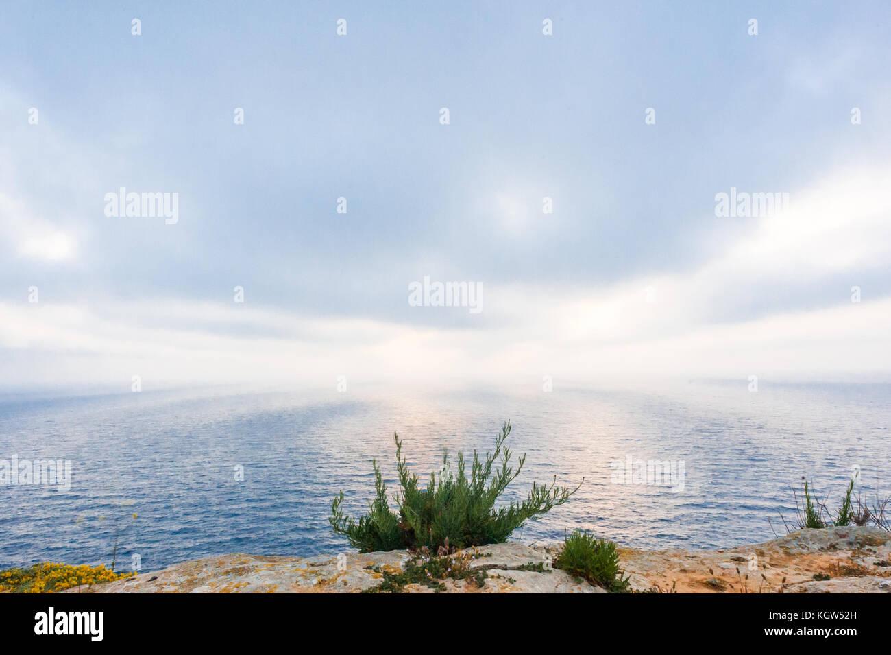 Sea at Dawn - Stock Image