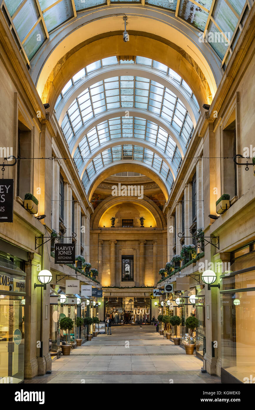 The Exchange shopping centre in Nottingham - Stock Image