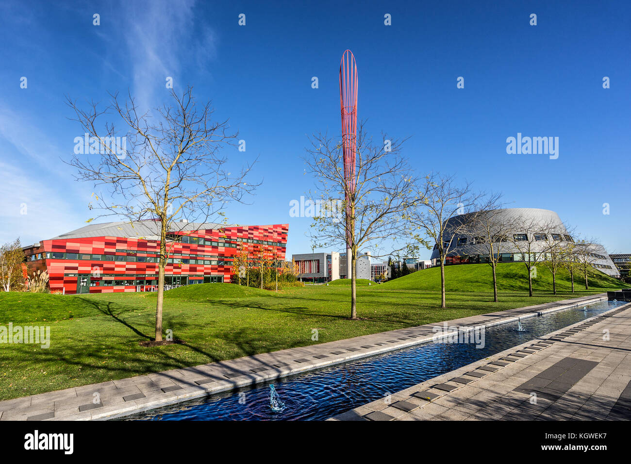 Jubilee Campus Nottingham - Stock Image
