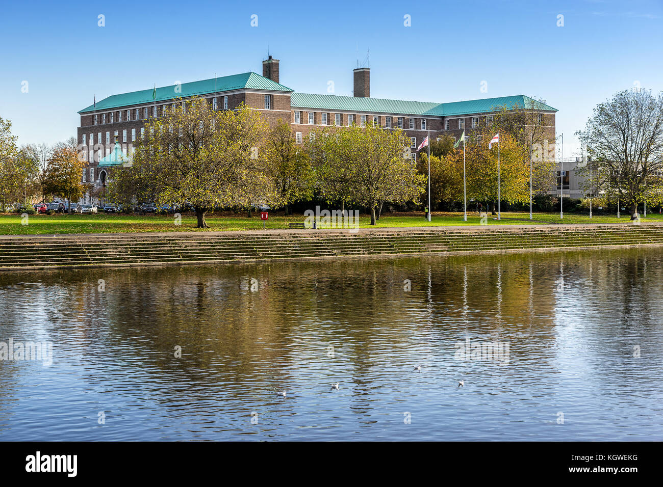County Hall in Nottingham - Stock Image