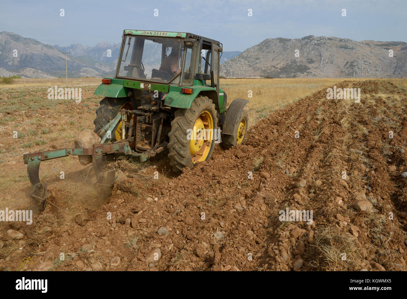 Medical students plowing