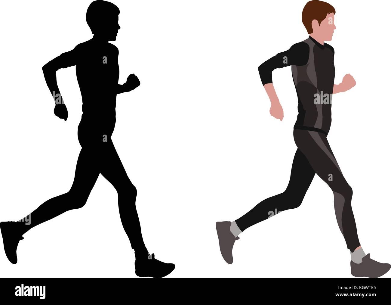female marathon runner vector stock vector image art alamy https www alamy com stock image female marathon runner vector 165295821 html