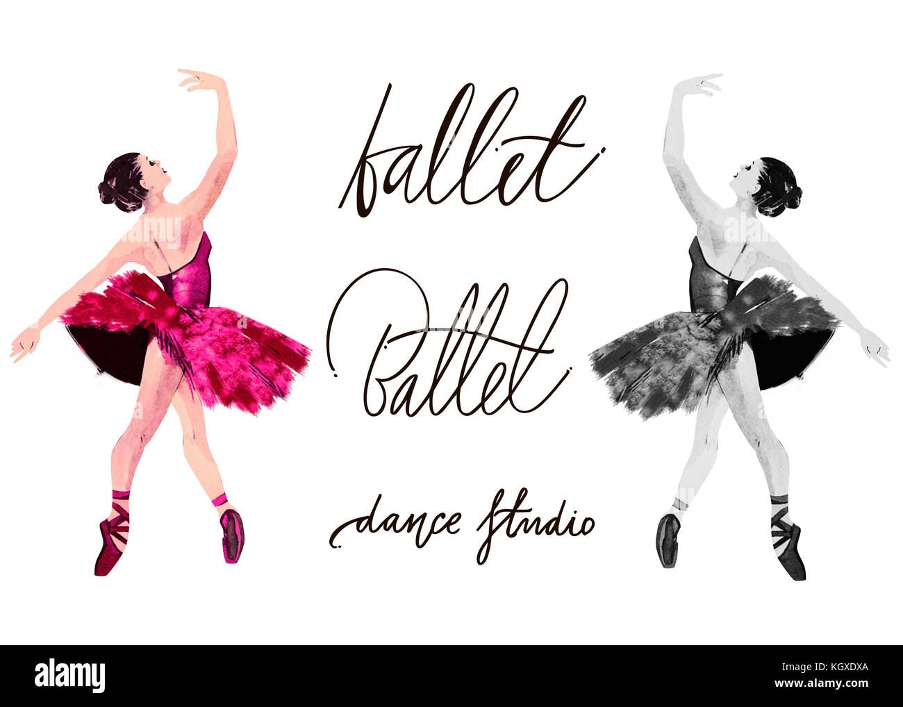 Ballet Cartoon High Resolution Stock Photography And Images Alamy