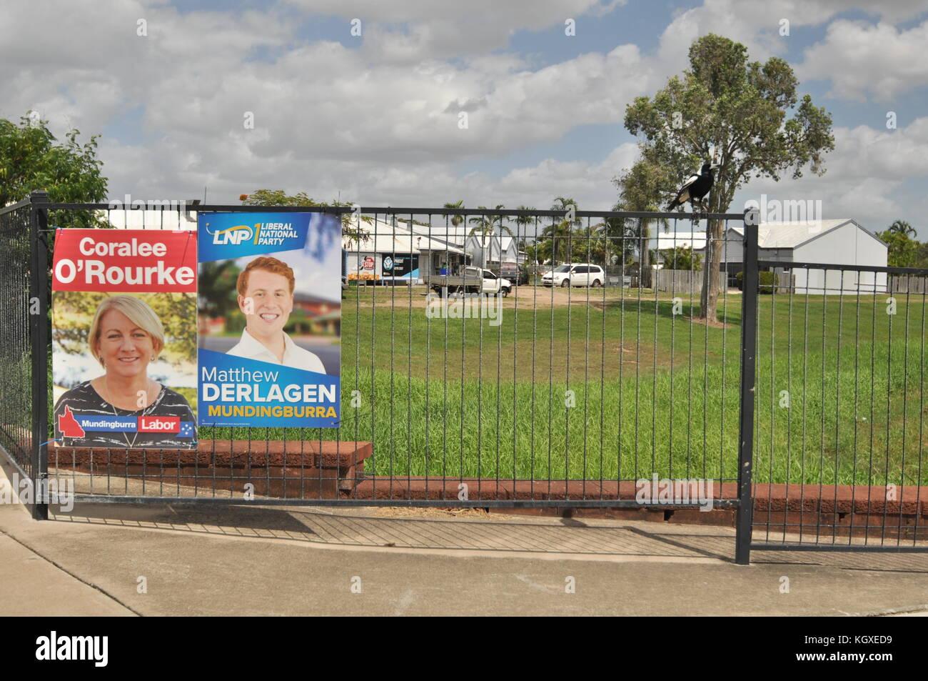 Townsville, Queensland, Australiauueensland elections Stock Photo