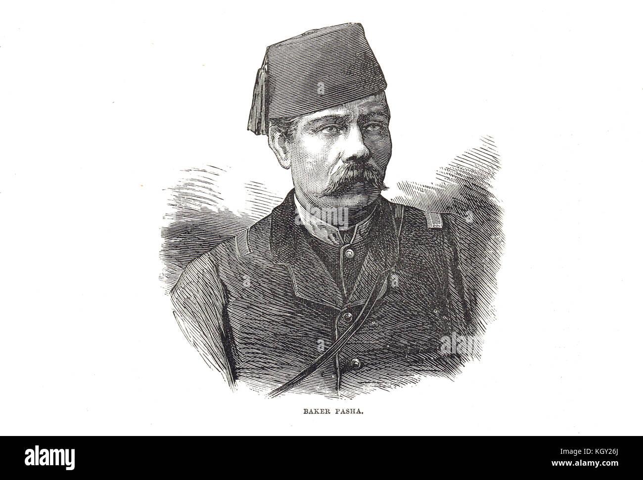 Valentine Baker (Baker Pasha), 1827-1887 - Stock Image