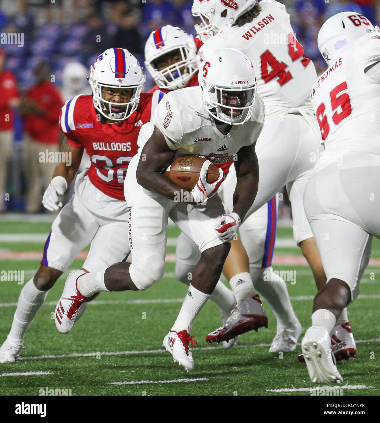 premium selection fa3ce 91a9d Ruston, LA, USA. 11th Nov, 2017. Florida Atlantic's Kerrith ...