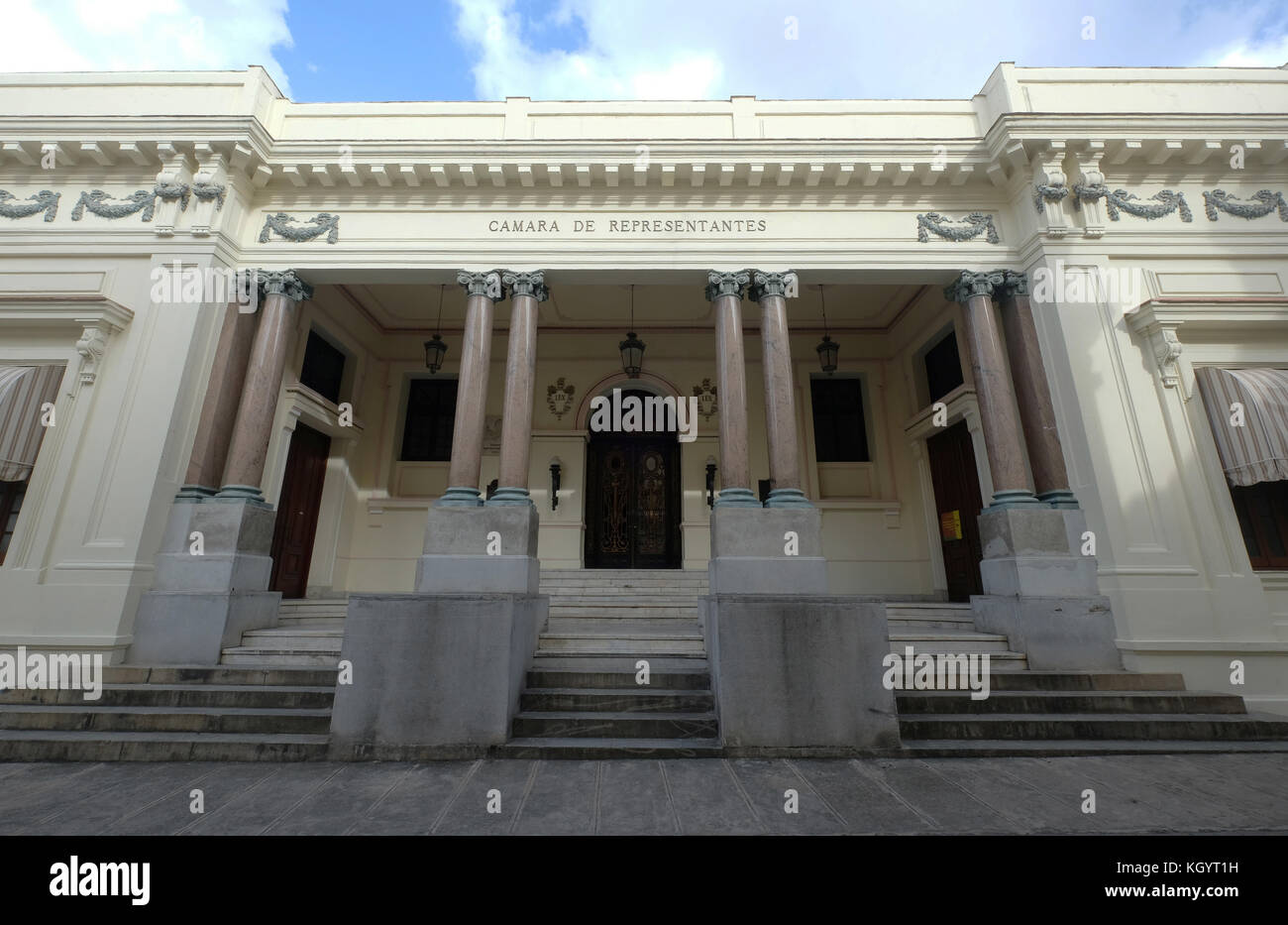 the Republican House of Representatives,Havana,Cuba - Stock Image