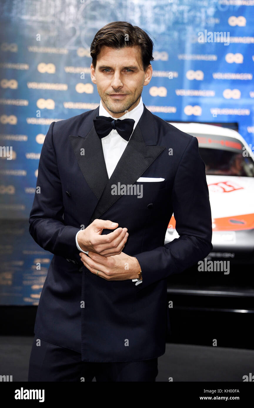 ddbded580c8 Johannes Huebl attends the 19th GQ Men of the Year Awards 2017 at Komische  Oper on