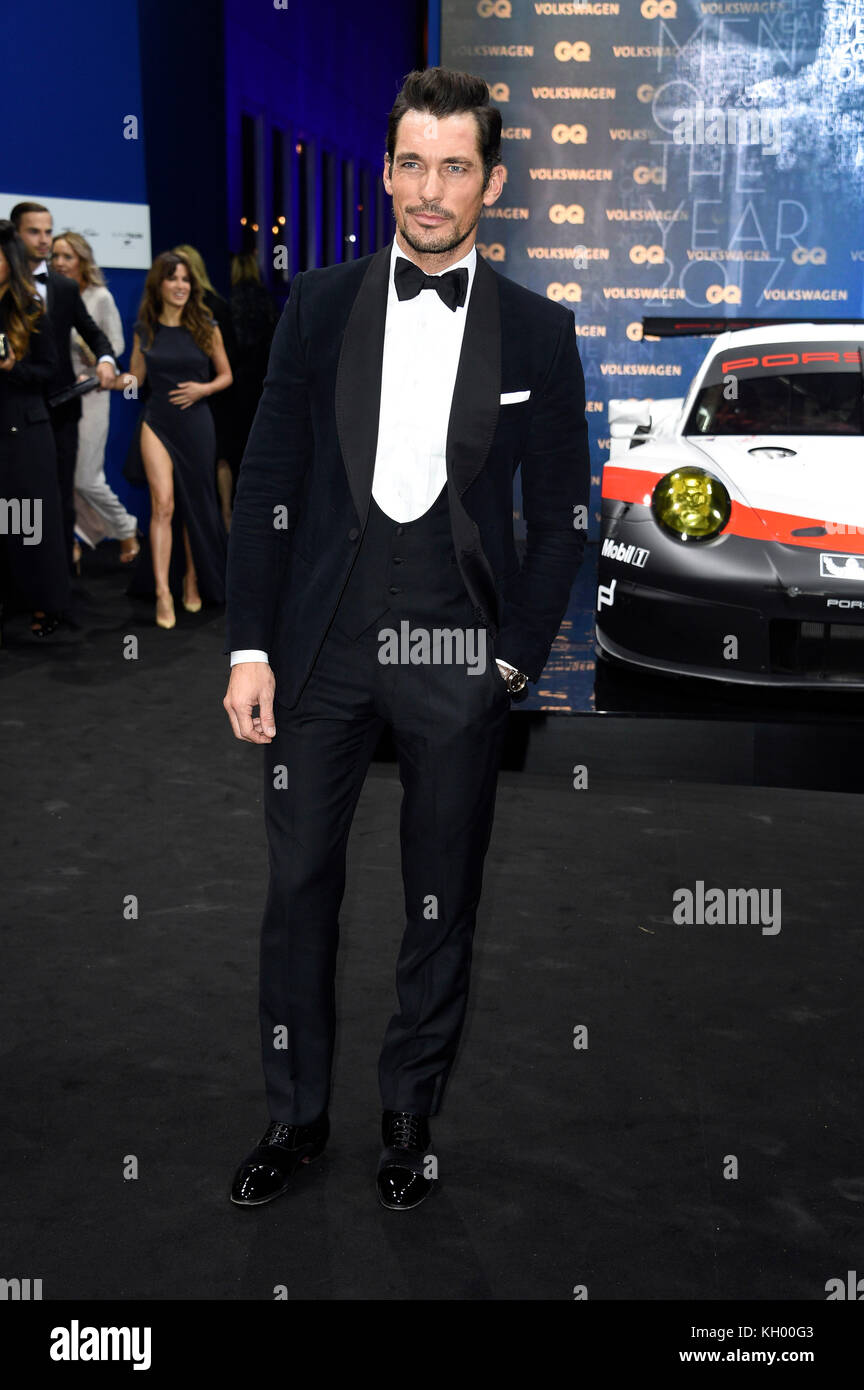 7ef950f6105 David Gandy attends the 19th GQ Men of the Year Awards 2017 at Komische  Oper on