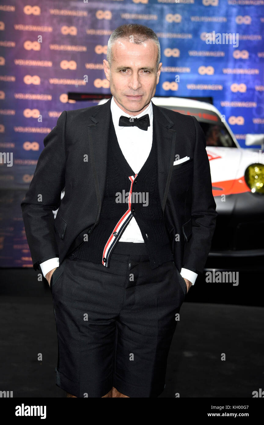ba36fbbf531 Thom Browne attends the 19th GQ Men of the Year Awards 2017 at Komische  Oper on