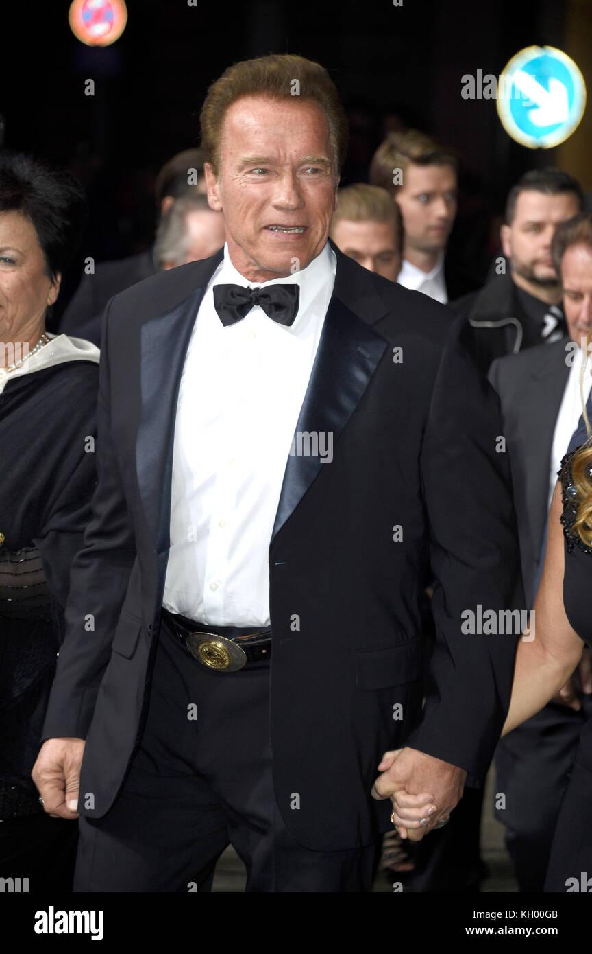6e182d5e7952 Arnold Schwarzenegger attends the 19th GQ Men of the Year Awards 2017 at  Komische Oper on