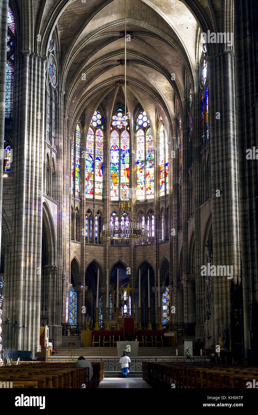 Saint Denis Gard: Royal Basilica Of Saint Denis Stock Photos & Royal