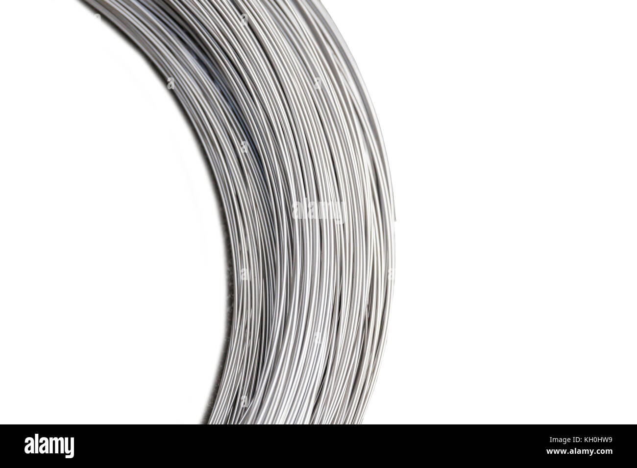 Silver Wire Coil Stock Photos & Silver Wire Coil Stock Images - Alamy